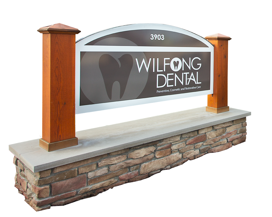 Wilfong Dental Office Sign